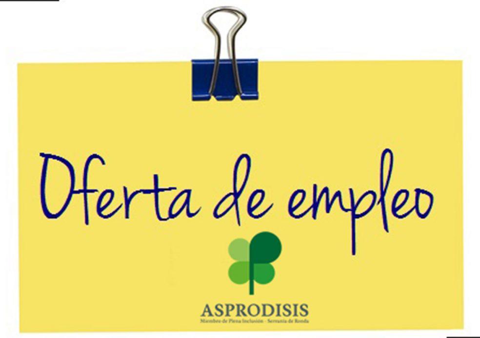 Ofertas de empleo asprodisis - Oferta de trabajo ...